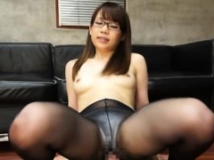 Oriental babe sucks and bonks in cosplay adult show