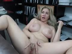 Flashing Blonde Babe Lenas Highway Masturbation And Public