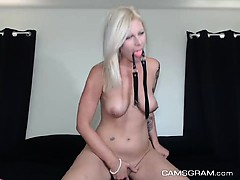Yummy Blonde Camgirl Is Ready For An Extraordinary Show