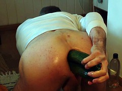 cucumbers and multiple Fist in the ass
