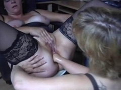 Backdoor Real bbw lesbo fist 1