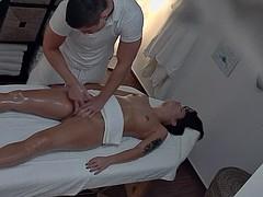 Sex In Massage Saloon