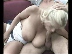 Big Boobs Stepmom Takes Son For A Ride Of His