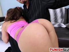 Obedient Evie Olson is a perfect sex pet
