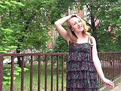 german scout - skinny redhead teen emma anal sex at casting