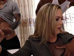 slut gangbanged by bbcs