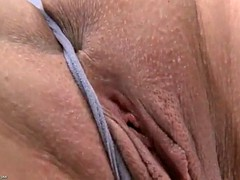 horny airline stewardess's grand tease up-skirt. embracing her asshole and pussy