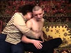 Russian mature on webcam