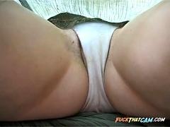 Voyeur 3 - A babe with spread thighs (MrNo)
