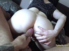 Horny police officer enjoy anal fucking