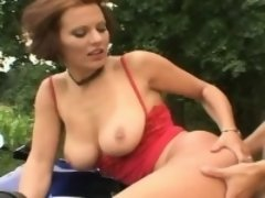 Big Tits Stepmom Goes For A Ride With Stepson