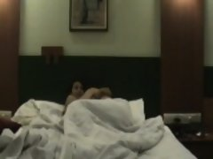 Exotic brunette gets ravaged by her boyfriend in a hotel ro