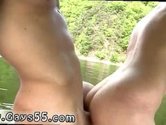 Tricking straight men into having gay sex Two Dudes Have Anal Sex On The Boat