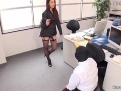 Asiatic female domination sex strapon minion maledom