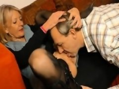 Skinny german Gilf is ready for a good fuck