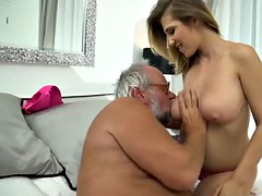 silver daddy dives in some nice pussy