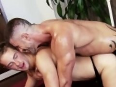Muscle gay foot fetish and facial
