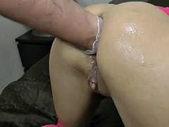 Crazy awesome anal fisting for Ukrainian porn star