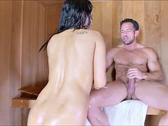 Hot Anal in the Sauna