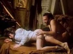Retro Having an intercourse in the Barn