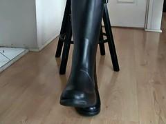 Hunter Boots Fetish - Rubber Boots Fetish