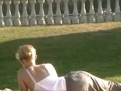 Areola In The Park (Downblouse wolter1000 fashion)