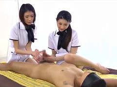 japanese dude creampie orgasm during long sensual massage 3-4