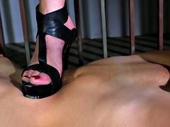 Silvia training Melissa (trampling)