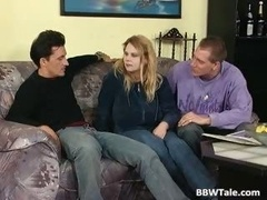 A duo lads make love one Big beautiful wolads slut in her tight part5