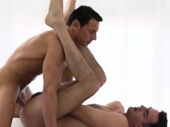 MormonBoyz - Muscle daddy fills young boys hole with cum