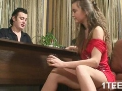 Hot and additionally sexy teen