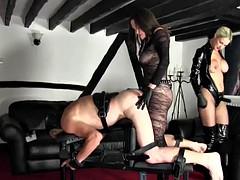 Doppelpenetration, Weibliche domination, Strapon