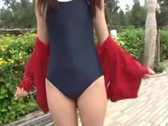 softcore asian diminutive teenage bathing suit bathing suit