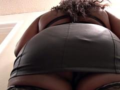 Anal Ebony BBW Housewife Abuse