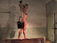 sexy slave is tied up and humiliated