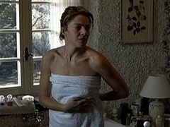 Claudia Gerini nude in The Unknown Dame (2006)