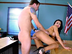 Big Tit MILF Teacher gets it on with Her Student after Class