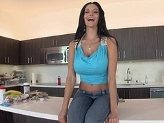 Ava Addams showing her hefty tits