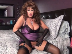 Ratchet slip and stockings Consuela from dates25com