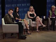 Dakota Fanning 92Y interview