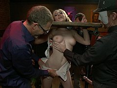 Bondage domination sadisme masochisme, Blonde, Domination, Hard, Humiliation, Public, Punition, Pute