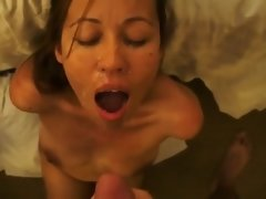 Submissive facefuck