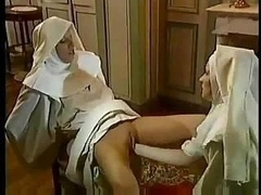 A pair of Nuns Have Sex With A Priest