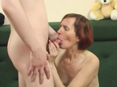 Russian mature anal with boy
