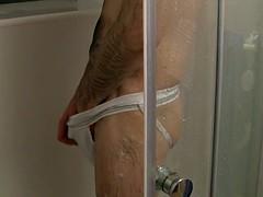shower wank