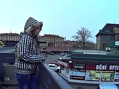MallCuties - teen girl on streets - czech teen streets - tee