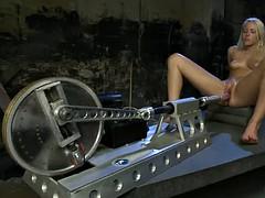 Tussi, Grosser schwanz, Blondine, Spassig, Masturbation, Vibrator