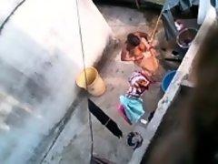 Brandie from 1fuckdatecom - Bengali mom bath