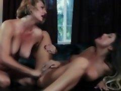 Lesbian milf eaten out
