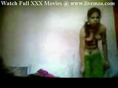 Indian Sweeper Maid Getting down and dirty Home Boy